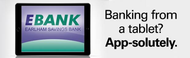 Ebank Tablet App